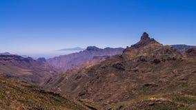 Montanhas de Gran Canaria fotografia de stock