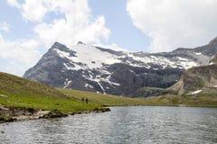 Montanhas de Gran Paradiso Foto de Stock