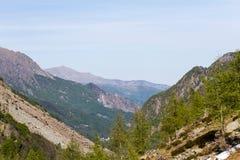 Montanhas de Gran Paradiso Imagem de Stock Royalty Free