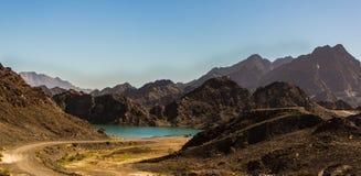 Montanhas de Hatta imagens de stock