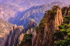 Montanhas de Huangshan Imagem de Stock