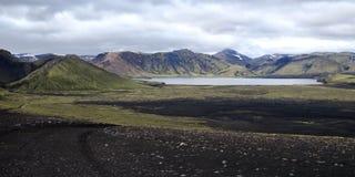 Montanhas de Islândia Imagens de Stock Royalty Free