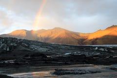 Montanhas de Islândia Imagem de Stock Royalty Free