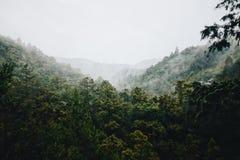 Montanhas de Japão fotografia de stock