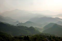 Montanhas de Jiangxi Wuyuan Shicheng Fotos de Stock