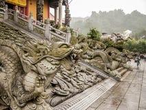 Montanhas de Jiuhuashan Imagens de Stock