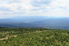 Montanhas de Jizera Foto de Stock