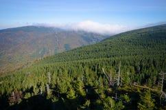 Montanhas de Jizera, república checa foto de stock