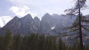 Montanhas de Julijci imagem de stock