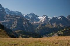 Montanhas de Jungfrau Fotos de Stock