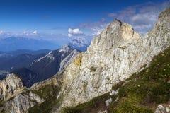 Montanhas de Karwendel Fotografia de Stock Royalty Free