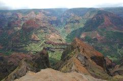 Montanhas de Kauai Foto de Stock