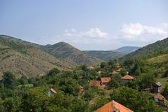 Montanhas de Kopaonik, Kosovo imagem de stock