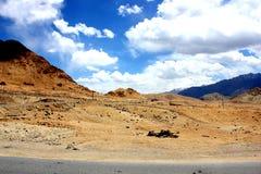 Montanhas de Ladakh imagens de stock