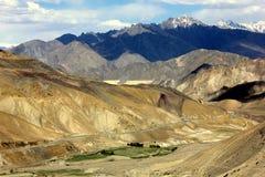 Montanhas de Ladakh fotografia de stock