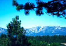 Montanhas de Lake Tahoe Imagens de Stock