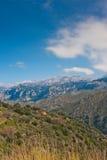 Montanhas de Lefka Ori Fotografia de Stock