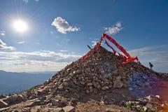 Montanhas de Lingshan Fotos de Stock Royalty Free