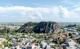 Montanhas de mármore, Danang Vietname maio de 2016 imagens de stock royalty free