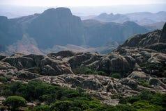Montanhas de Madagascar imagem de stock