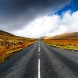 Montanhas de Mourne, condado para baixo, Irlanda do Norte Fotografia de Stock Royalty Free