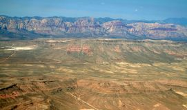 Montanhas de Nevada Imagens de Stock Royalty Free