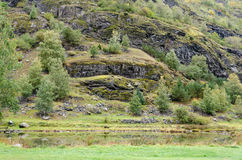 Montanhas de Noruega Imagens de Stock