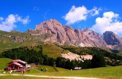 Montanhas de Odles Foto de Stock Royalty Free
