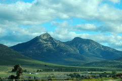 Montanhas de Outeniqua fotografia de stock
