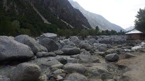 Montanhas de Paquistão fotos de stock royalty free