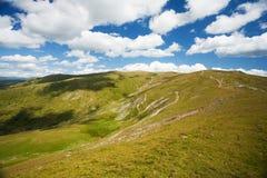Montanhas de Parang em Romania imagens de stock royalty free