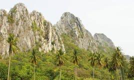 Montanhas de pedra Fotografia de Stock Royalty Free