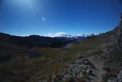 Montanhas de Peru foto de stock royalty free