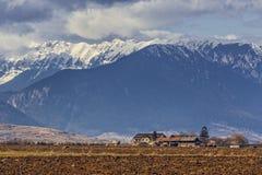 Montanhas de Piatra Craiului Foto de Stock