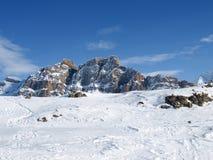 Montanhas de Pizzo Uccello Foto de Stock Royalty Free