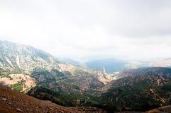 Montanhas de Psiloritis em Grécia na ilha da Creta fotos de stock
