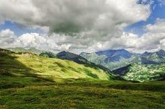 Montanhas de Pyrenees Foto de Stock Royalty Free