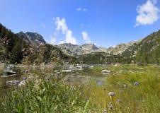 Montanhas de Pyrenees Imagem de Stock