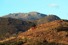 Montanhas de Pyrenees no francês Catalonia Fotos de Stock Royalty Free