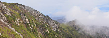 Montanhas de Qinling Fotos de Stock Royalty Free