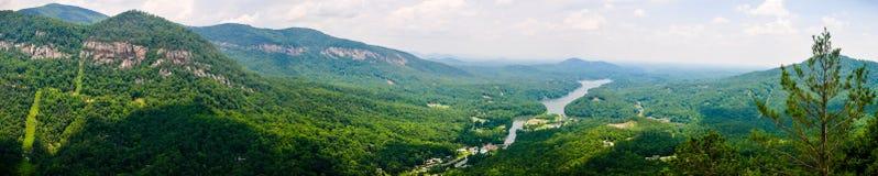 Montanhas de Ridge azul Foto de Stock