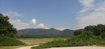 Montanhas de Ridge azul Geórgia imagens de stock