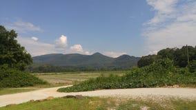 Montanhas de Ridge azul Geórgia Foto de Stock Royalty Free