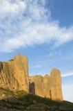Montanhas de Riglos Imagens de Stock Royalty Free