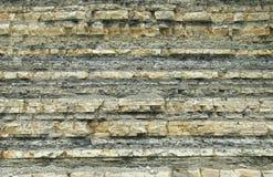 Montanhas de rochas sedimentares imagem de stock royalty free