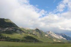 Montanhas de Rockie, Canadá Imagem de Stock Royalty Free