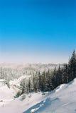 Montanhas de Rodopi Foto de Stock Royalty Free