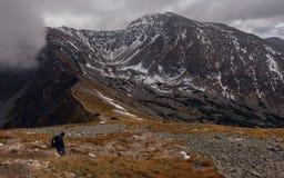 Montanhas de Rohace em Eslováquia Fotos de Stock