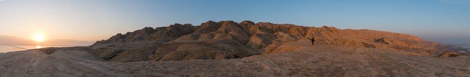 Montanhas de sal do Mar Morto Foto de Stock Royalty Free