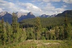 Montanhas de San Juan em Colorado do sudoeste Fotografia de Stock